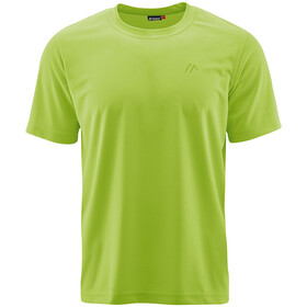 Maier Sports Walter SS Shirt Men, macaw green